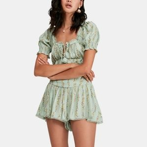 Free People Two Piece Set